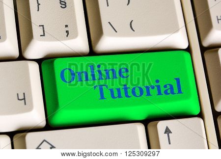 Online Tutorial Key