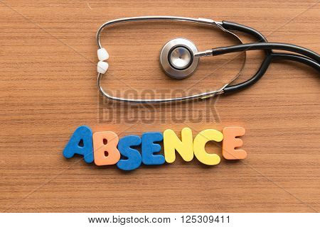 Absence Medical Word