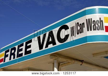 Free Vac  Car Wash