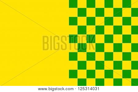 Flag of County Donegal is a county in Ireland. It is part of the Border Region and is in the province of Ulster.