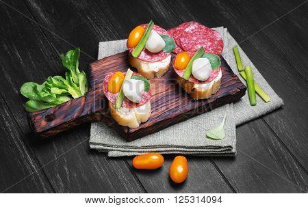 Little Tapas Sandwiches