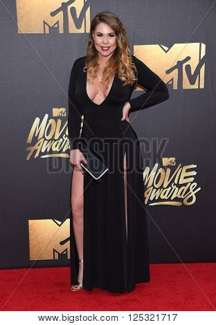 LOS ANGELES - APR 09:  Kailyn Lowry arrives to the Mtv Movie Awards 2016  on April 09, 2016 in Hollywood, CA.
