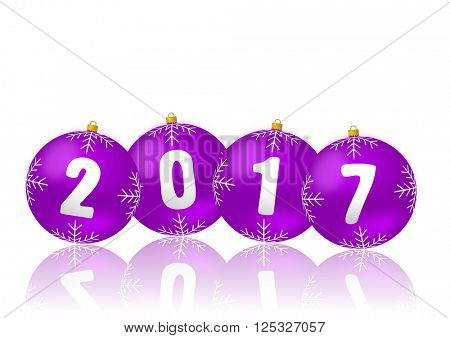 2017 new-year illustration