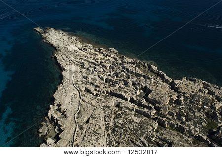 favignana island, Trapani, Sicily, Italy