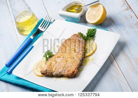 baked swordfish with marinade
