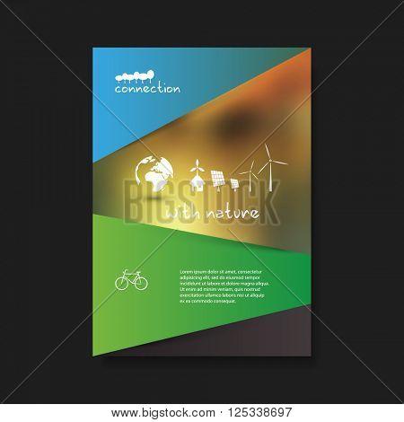 Eco Flyer Design Template - Renewable Energy Theme