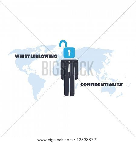 Whistleblowing and Confidentiality Problem - Panama Papers Concept Design