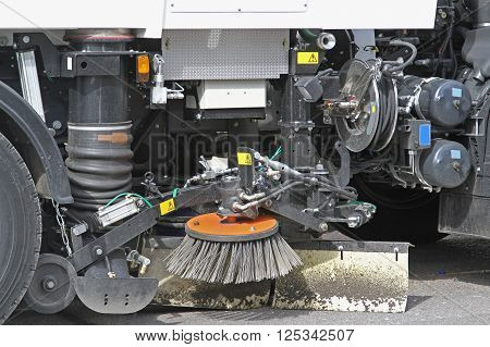 Mechanical Street Sweeper and Vacuum Cleaning Machine