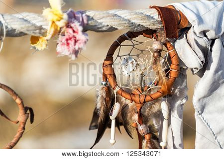 Dreamcatcher At Medicine Wheel