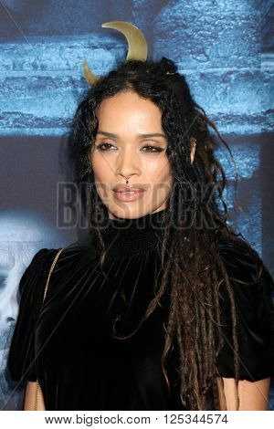 LOS ANGELES - APR 10:  Lisa Bonet at the Game of Thrones Season 6 Premiere Screening at the TCL Chinese Theater IMAX on April 10, 2016 in Los Angeles, CA