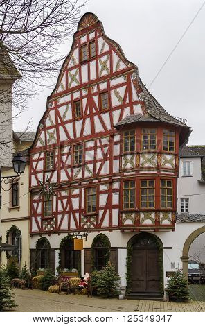 historical half-timbered house in Limburg, Hesse, Germany