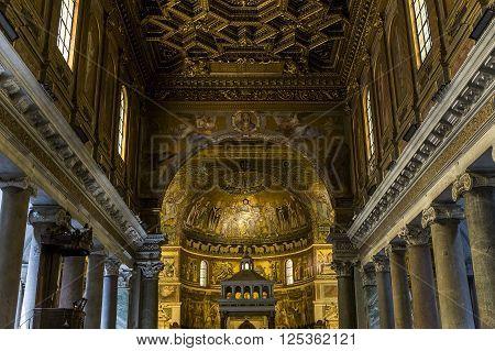 Basilica Di Santa Maria In Trastevere, Rome, Italy