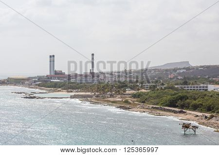 The Petroleum industry on tropics of Curacao