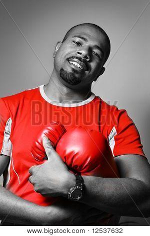 Portrait Of A Boxer