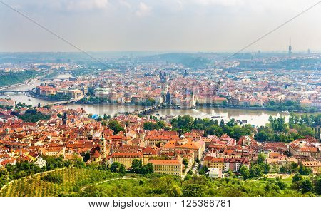 View of the Prague Old Town - Czech Republic