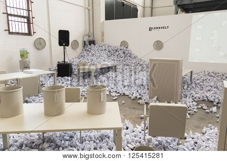 Installation For Fuorisalone At Ventura Lambrate In Milan, Italy