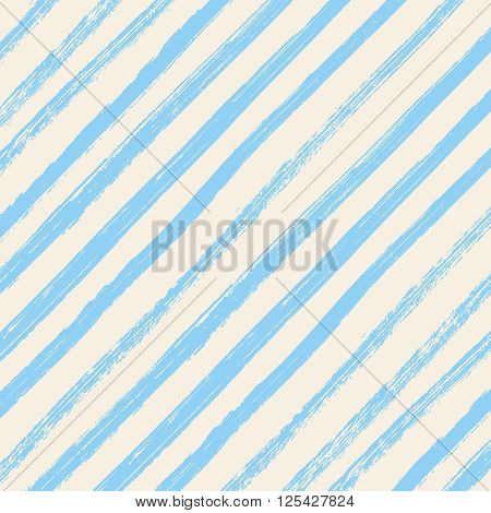 Brush strokes blue diagonal lines isolated on white background. Brush strokes diagonal lines color background. Vector brush strokes.
