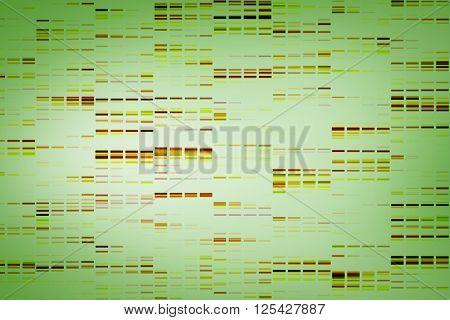 Data against green vignette