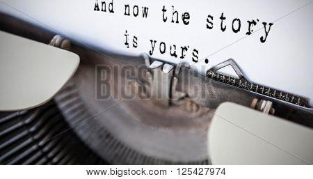 A sentence against a printer