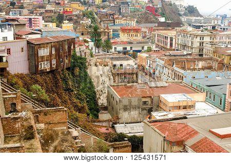 Valparaiso, Chile View