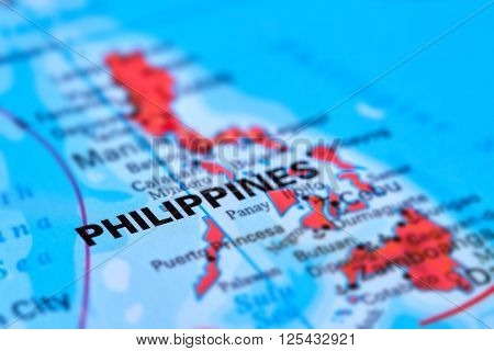 Philippines Islands On The Map