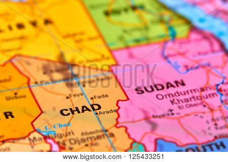 Chad On The Map