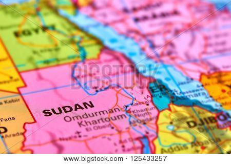 Sudan On The Map