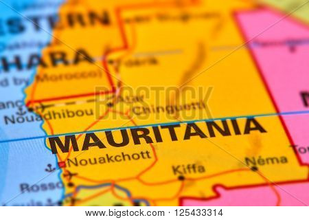 Mauritania On The Map