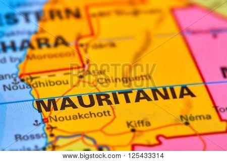Mauritania On The Map