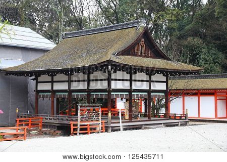 Shinto Shrine In Kyoto