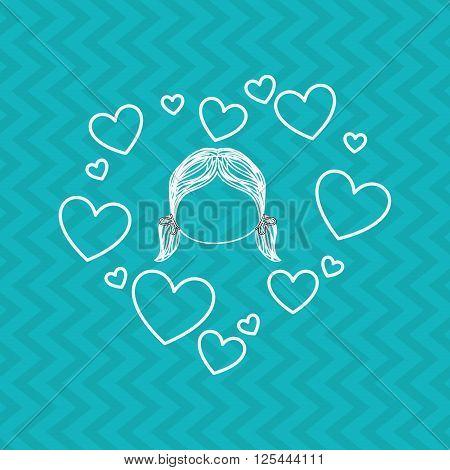 family love design, vector illustration eps10 graphic