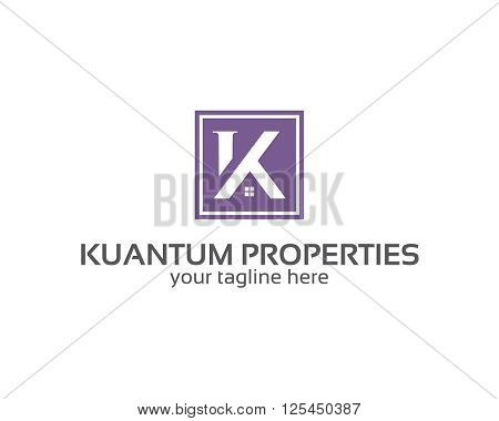 Business Corporate Letter K Logo Design Template. Simple And Clean Flat Design Of Letter K Logo Vect