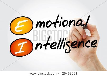 Hand Writing Ei - Emotional Intelligence
