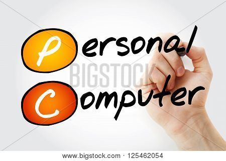 Hand Writing Pc Personal Computer