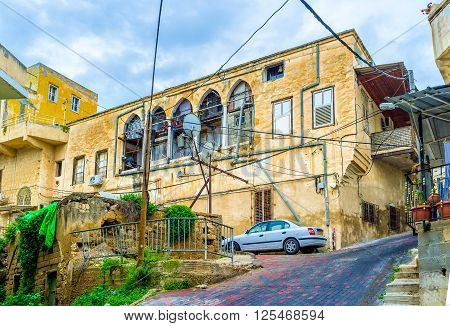 Nazareth boast beautiful mansions built in ottoman period Israel.