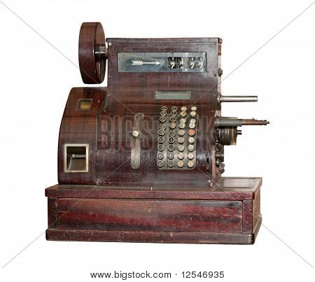 Ancient Cash Register