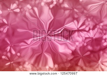Colourful Spark And Blow Lovely Fantasy Mood Abstract Sweet Cheerful Pearl Pink Background