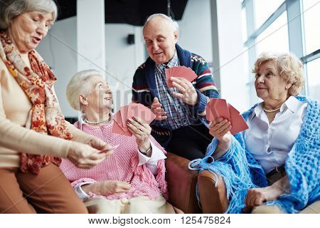 Seniors at leisure