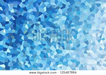 Crystallize Abstract Background In Pastel Blue Colour Tone