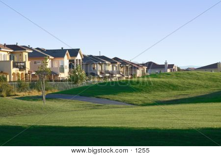 Casas en el campo de golf