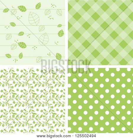 Natural green backgrounds
