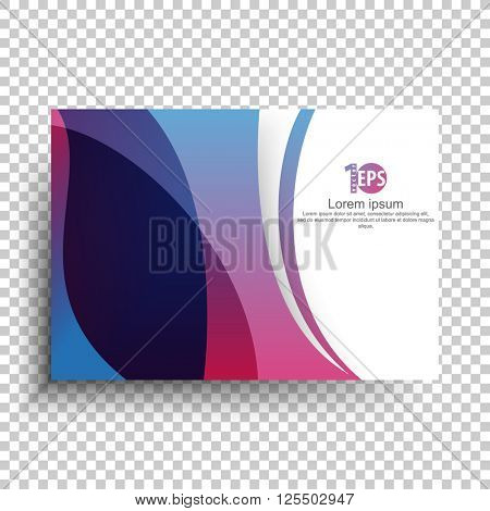 flat layout corporate concept trendy material background. eps10 vector