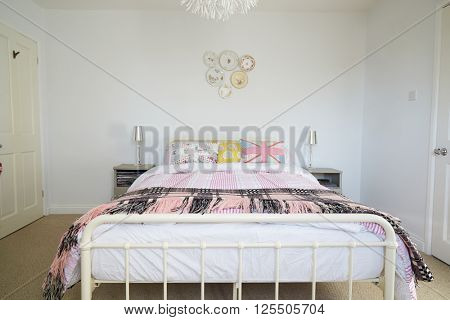 Bedroom Area In Modern Stylish Apartment