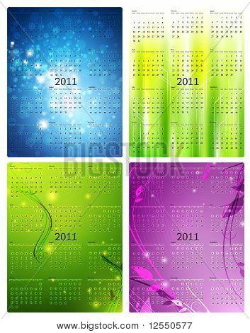 2011 Calendar Templates