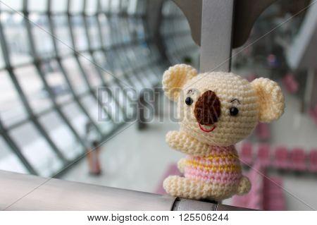 Koala Amigurumi - Hand made crochet koala doll.
