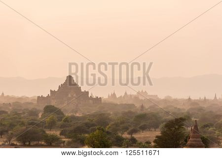 Dhammayangyi temple The biggest Temple in Bagan Myanmar ** Note: Soft Focus at 100%, best at smaller sizes