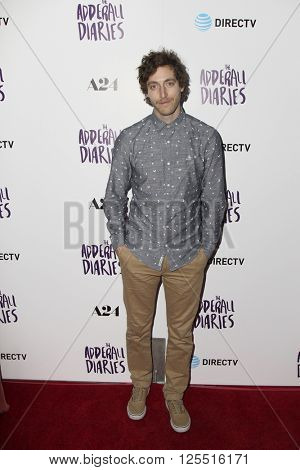 LOS ANGELES - APR 12:  Thomas Middleditch at the The Adderall Diaires Premiere Screening of A24/DIRECTV Series at the ArcLight Hollywood on April 12, 2016 in Los Angeles, CA