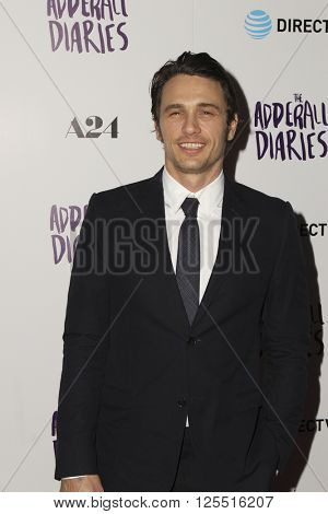 LOS ANGELES - APR 12:  James Franco at the The Adderall Diaires Premiere Screening of A24/DIRECTV Series at the ArcLight Hollywood on April 12, 2016 in Los Angeles, CA