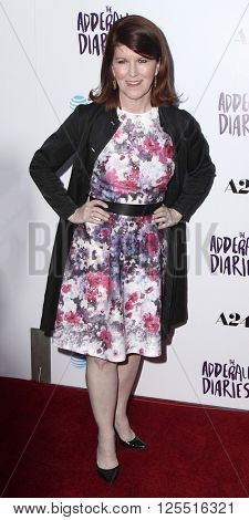 LOS ANGELES - APR 12:  Kate Flannery at the The Adderall Diaires Premiere Screening of A24/DIRECTV Series at the ArcLight Hollywood on April 12, 2016 in Los Angeles, CA