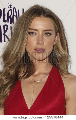 LOS ANGELES - APR 12:  Amber Heard at the The Adderall Diaires Premiere Screening of A24/DIRECTV Series at the ArcLight Hollywood on April 12, 2016 in Los Angeles, CA